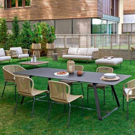 Varaschin Kolonaki table à manger d'extérieur en plusieurs dimensions