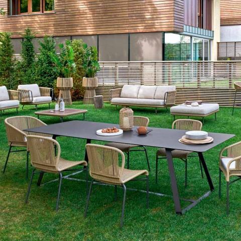 Table à manger d\'extérieur en plusieurs dimensions Varaschin Kolonaki