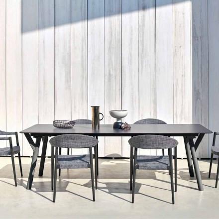 Table à rallonge de jardin, jusqu'à 350 cm, H 65 cm Varaschin Link