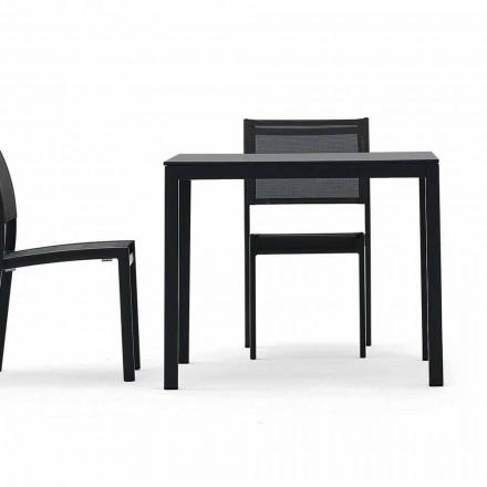 Table de salle à manger d'extérieur / d'intérieur modèle Varaschin Victor