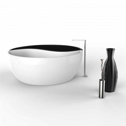Baignoire de haut gamme en Solid Surface fabriquée en Italie, Bath tao