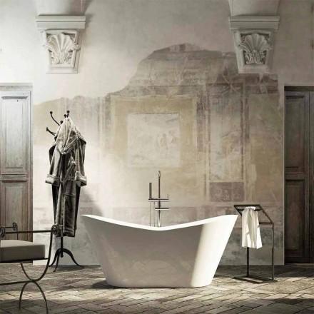 Baignoire îlot Ragusa de design moderne fabriquée en Italie 160x71 cm