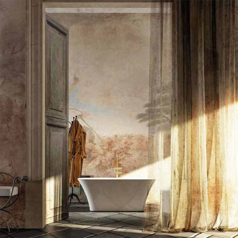Baignoire sur pied de design moderne made in Italy Gallipoli