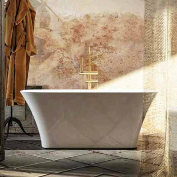 Baignoire sur pied de design moderne made in Italy Gallipoli