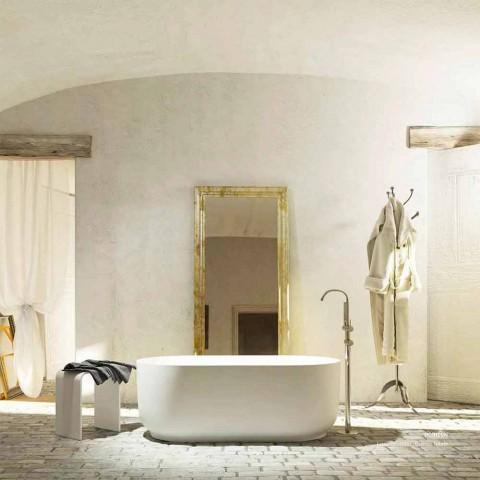 Baignoire autoportante au design moderne produite en Italie Zollino