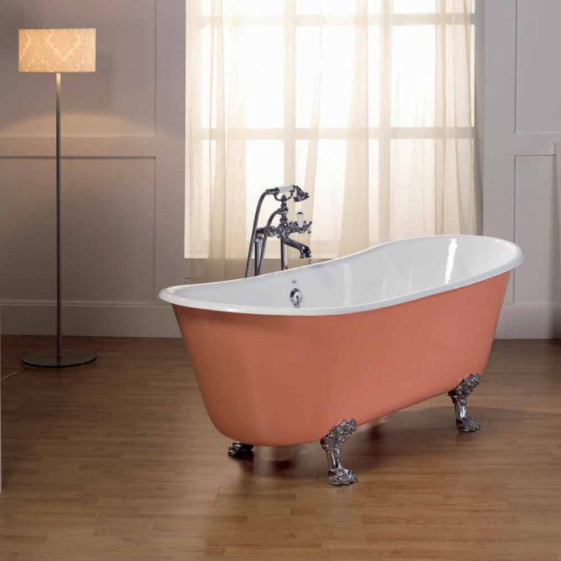 baignoire en fonte avec pieds Melissa