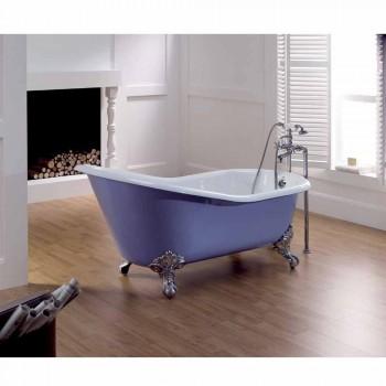 salle de bain design en fonte avec pieds décoré Carrie