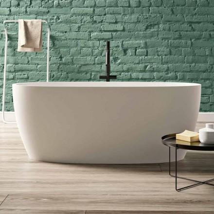 Bagnoire Ilot, Design Solid Surface Brillat/Mat – Velo