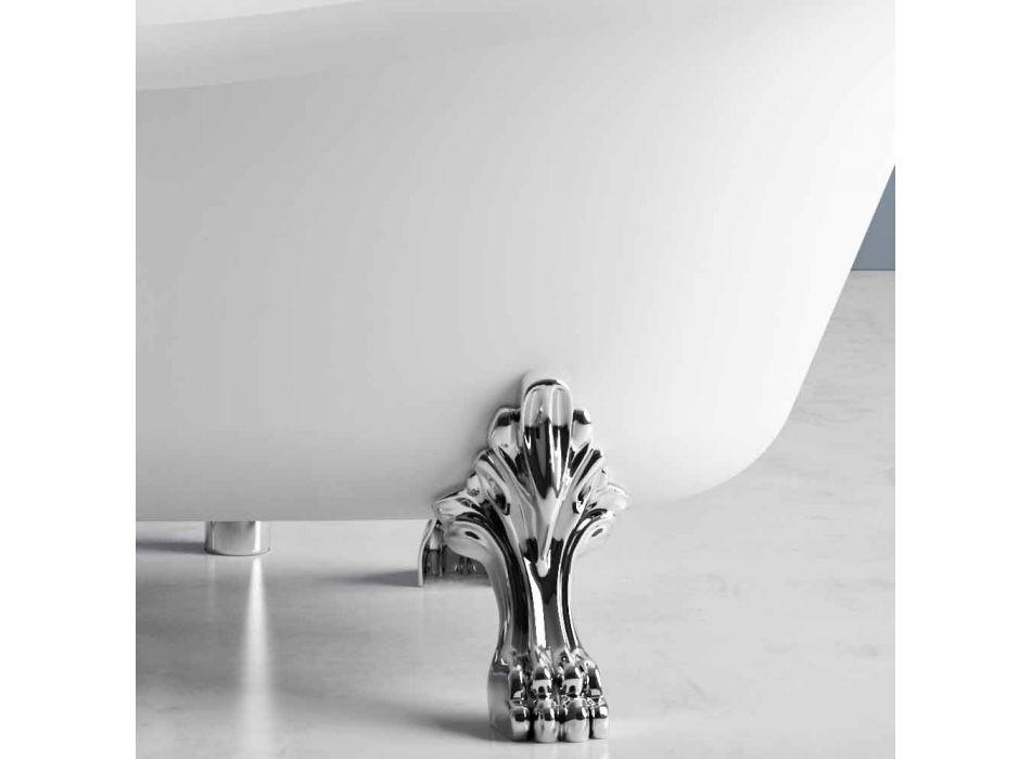 Baignoire À Poser, Design Victorien En Solid Surface - Rain