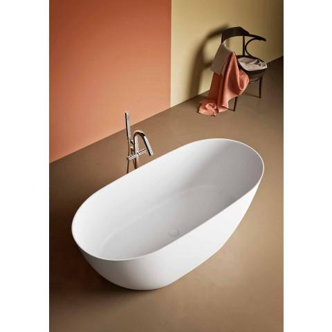 Baignoire À Poser, Fabriqué En Italie, En Solid Surface - Flow
