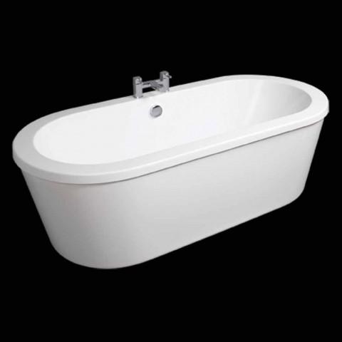 Baignoire autoportante blanche moderne avril 1800x830 mm