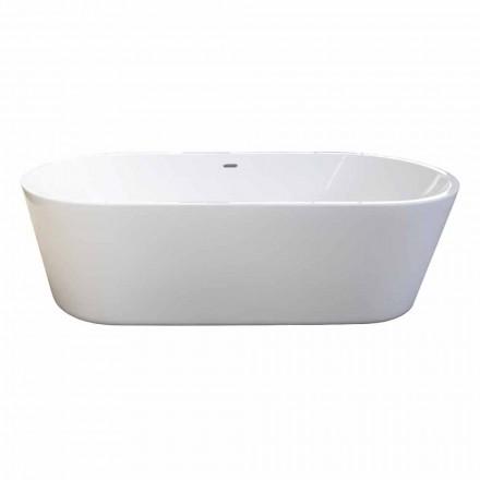 Nicole 2 design blanc baignoire autoportante moderne 1785x840mm