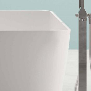 Autoportant Design Moderne Blanc Brillant ou Mat - Visage