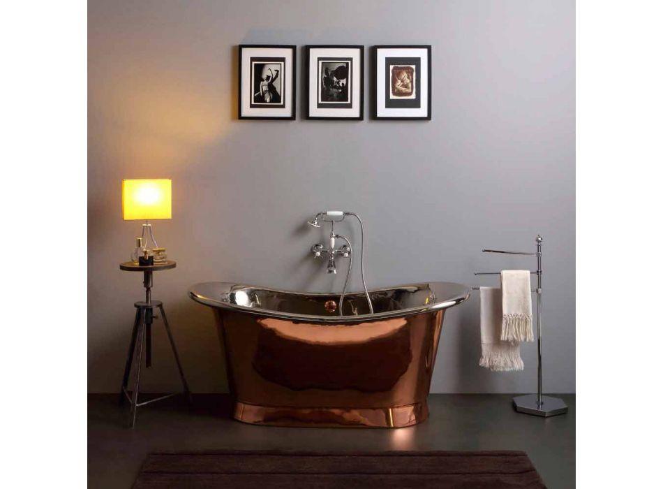 conception de nickel et autoportant bain cuivre Angelica