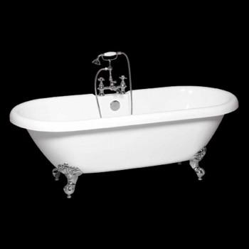 Baignoire autoportante en acrylique blanc moderne Sunshine 1774x805 mm