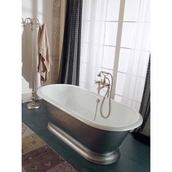 Baignoire ilôt en fonte de style Vintage, Made in Italy - Orsola