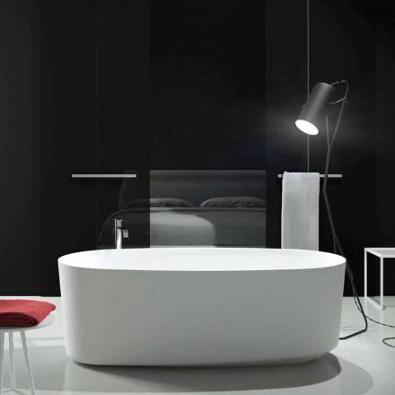 Baignoire monobloc freestanding de design fabriquée en Italie Dongo