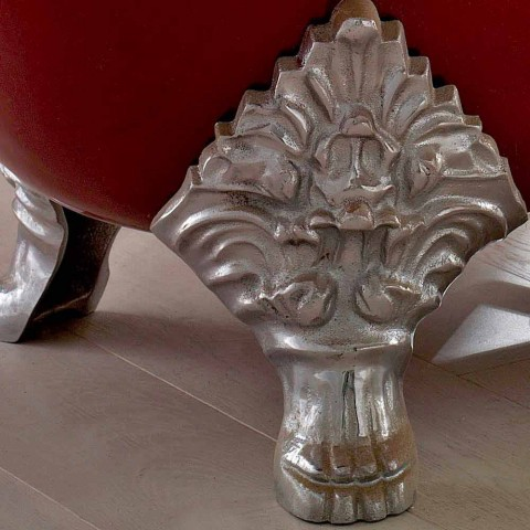 Baignoire Autoportante Vintage avec Pieds en Fonte, Fabriquée en Italie - Naike