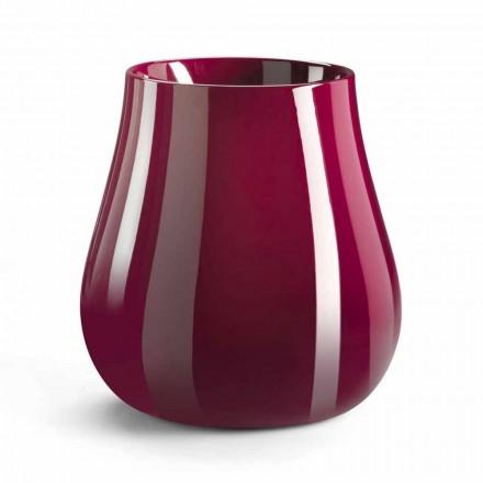 Vase décoratif design en forme de goutte en polyéthylène fabriqué en Italie - Monita