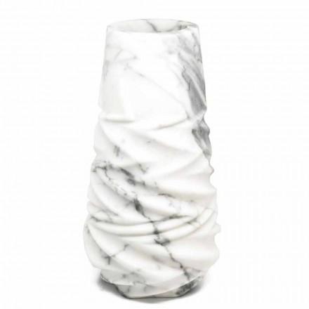 Vase Décoratif Arabesque en Marbre Fabriqué en Italie - Brock