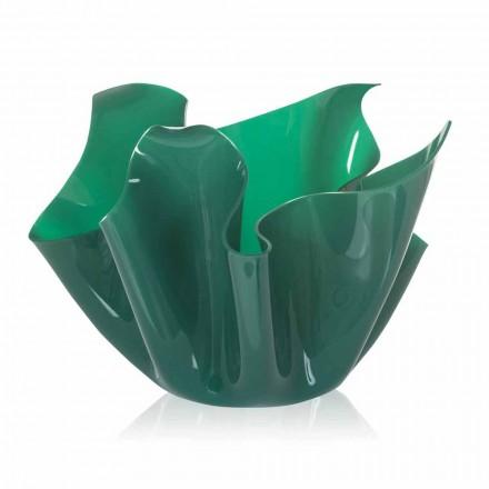Vase multi-usages vert intérieur/extérieur Pina, fait en Italie