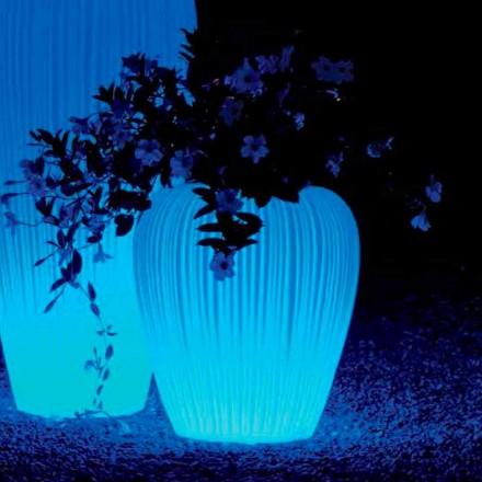 Bocal lumineux avec batterie à induction RGBW Design, 2 pièces - Skin by Myyour