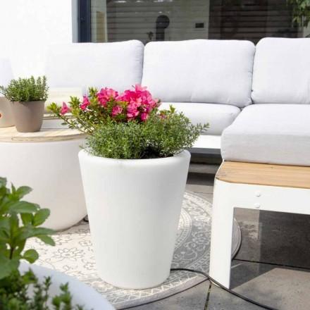Vase lumineux pour extérieurs et intérieurs, design coloré en 3 dimensions - Vasostar