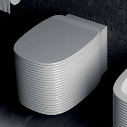 Vase suspendu de conception moderne en poterie fabriquée en Italie, Amleto