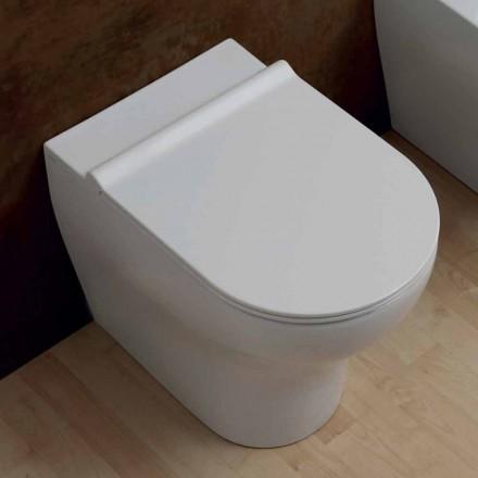 Vase de toilette en céramique de 54x35cm de design moderne fabriqué en Italie, Star