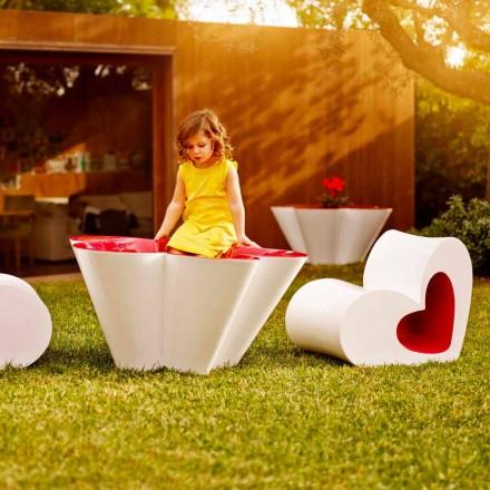 Vondom Agatha cache-pot d'extérieur de design en polyéthylène coloré