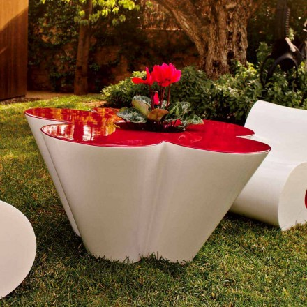 Vondom Agatha table basse d'extérieur de design polyéthylène coloré