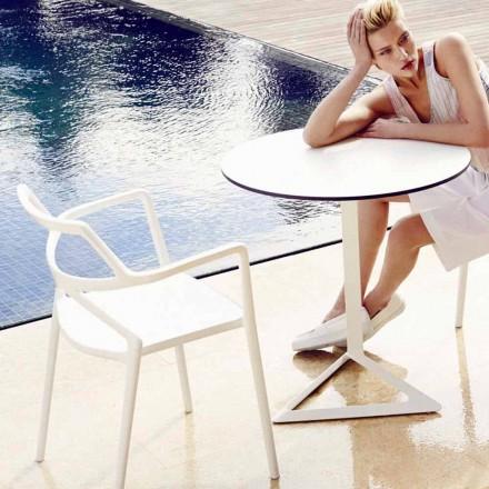Vondom Delta chaise de jardin de design moderne en polypropylène