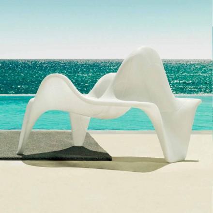 Vondom F3 fauteuil de jardin en polyéthylène de design moderne