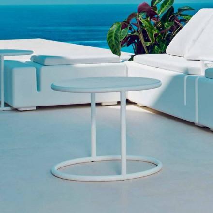 Vondom Kes table basse tonde de jardin en acier, design moderne