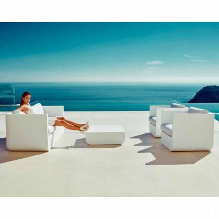 Vondom Ulm salon d'extérieur blanc en polyéthylène, de design moderne