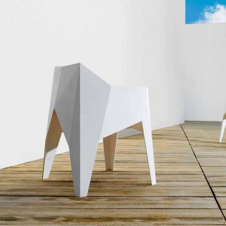 Vondom Voxel chaise de jardin moderne coloré en polyéthylène