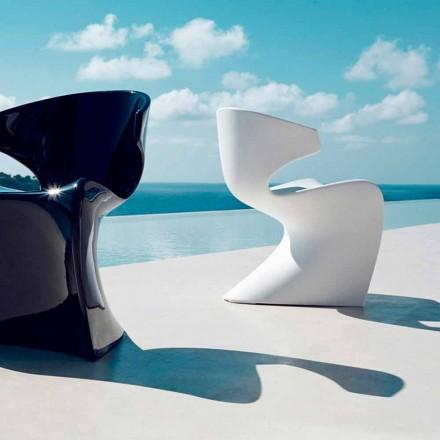 Vondom Wing chaise de jardin de design en polyéthylène L50xP56xH74 cm