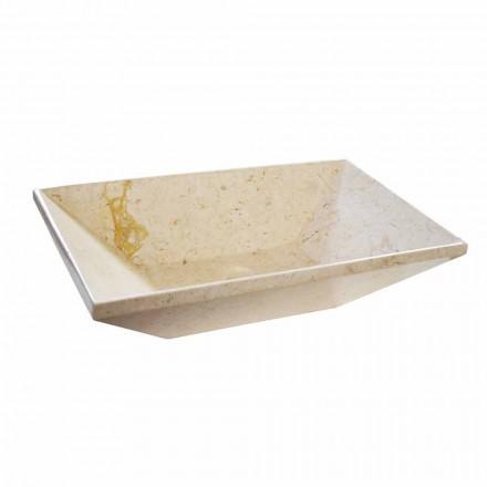 Vasque à poser en marbre de design Wok de design moderne