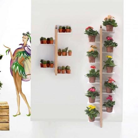 Porte-plantes de design moderne Zia Flora, à fixer au mur